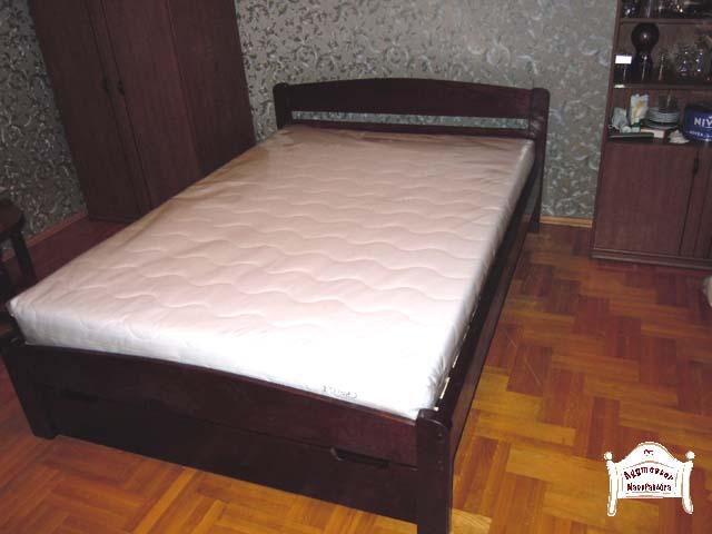 Pontjó juharfa keményfa franciaágy 160x200 matraccal 140x200 180x200 méretben is