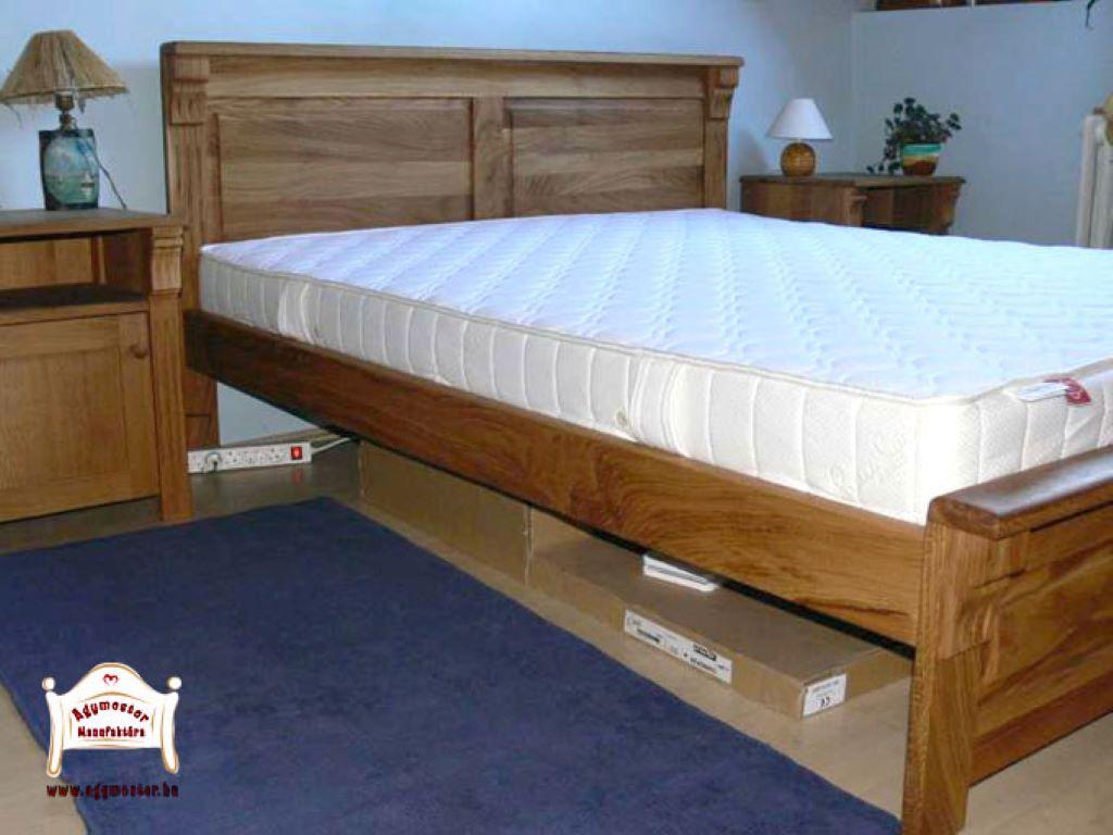 Egyedi méretű francia ágy keményfa 140x200 160x200 180x200