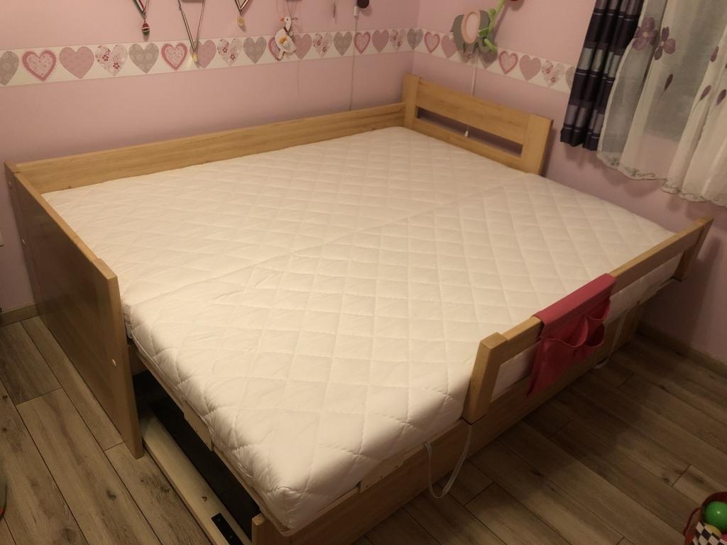 Kőrisfa Vendégszerető ágy leesésgátlóval 160x200 vagy 180x200 méretű