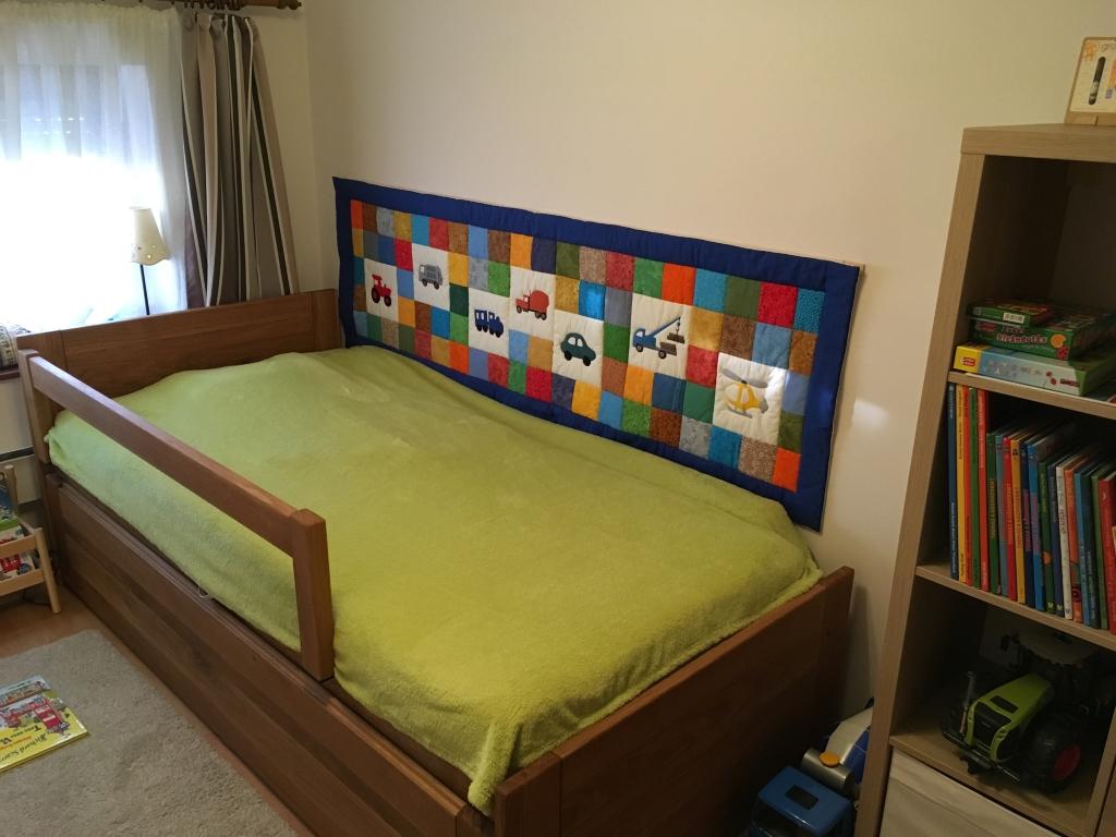 Tömör fa ágykeret vendégágy és ágyneműtartó 160x200 180x200 méretben